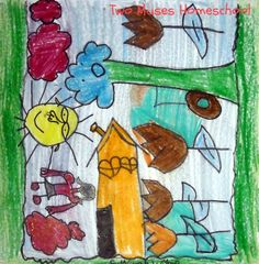 Art Curator for Kids - Making Art with Kids - Chagall-Inspired Drawings4