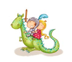 dragon and knight2 Fantasy Dragon, Dragon Art, Dinosaur Images, Dinosaur Dinosaur, Character Concept, Character Design, Cute Illustration, Dinosaur Illustration, Dragon Illustration
