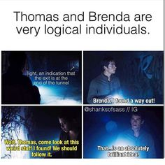 I hate, Brenmas. It should be Thomas and Teresa. That's what I support.