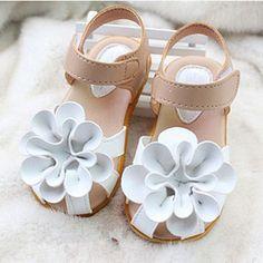 SCYL Summer children shoes girls sandals princess beautiful flower Sandals baby Shoes sneakers sapato infantil menina