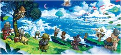 So Cute: Transparent Fantasy Life 3DS Character And Concept Art, Also Box Art  http://gg3.be/2014/07/25/so-cute-transparent-fantasy-life-3ds-character-and-concept-art-also-box-art/