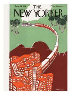 The New Yorker Cover - June 19, 1926.