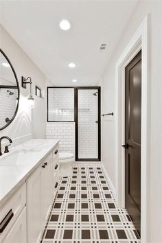 Fixer Upper Long Narrow Bathroom Best Of Chip and Joanna Gaines Very First House Flip since Fixer Small Narrow Bathroom, Narrow Rooms, Bathroom Spa, Bathroom Renos, Master Bathroom, Bathroom Cabinets, Gold Bathroom, French Bathroom, Zen Master