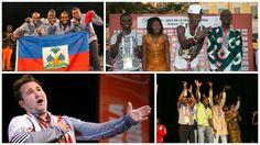 Les Lauréats aux concours de danse, chant et contes des VIIes Jeux de la Francophonie de Nice, France- 2013