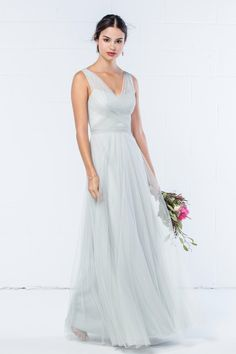 Wtoo Dress Style 343. Eucalyptus, Size 12, $205 available at Debra's Bridal Shop, 9365 Philips Hwy., Jacksonville, FL. Contact us for your consultant appointment at 904-519-9900. Dress can be ordered in various colors and sizes.