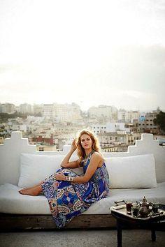 #Boteh #Maxi #Dress by #Ranna #Gill via #Anthropologie