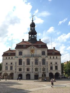 Lüneburg Rathaus in Lüneburg, Niedersachsen