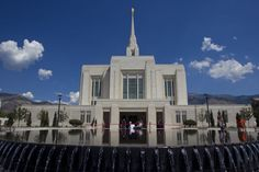 Ogden Temple. Oh I hope we are able to be married here! Fingers crossed we can get a reservation. :)