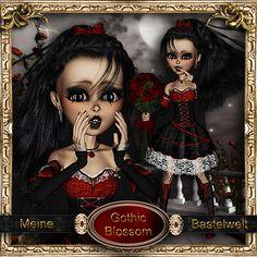Meine Bastelwelt : Gothic Blossom (600×600)
