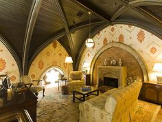 most gorgeous room in a converted church