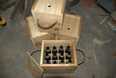 DIY wooden beer crate - I want a couple for my cider brews!