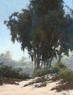Jacob Aguiar       Carmel,  pastel, 14x11 on Pastelbord.