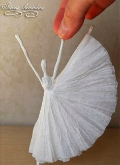 DIY Paper Ballet Dancer - The Idea King
