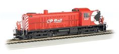 Bachmann HO Standard Line ALCO RS3 Diesel Locomotive, with Sound, Canadian Pacific No. 8438