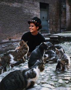 Claudia Cardinale,Roma 1962