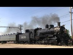 Northern Illinois Trip 5/25/2014 Part 1 - Interurban and Steam at IRM - YouTube