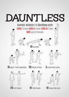 Dauntless Workout