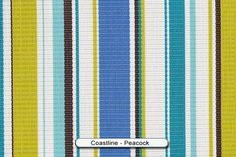 Coastline-Peacock, Vinyl Mesh Sling Fabric - Price: $24.99  / yard - Width: 54 inches - www.chaircarepatio.com