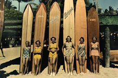 pics of early female surfers arent they just beautifull
