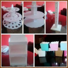 1000 images about moldes para mesa de postres on - Bases para cupcakes ...