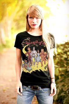 The Wizard of Oz Yellow Brick Road  T-Shirt - Logoshirt