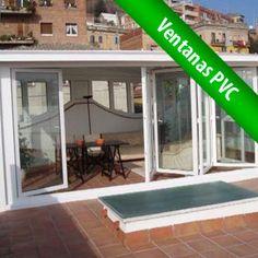 Aprovecha espacios. Las ventanas practicables de PVC son la solución