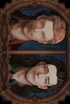 Thor & Loki by ぽん酢