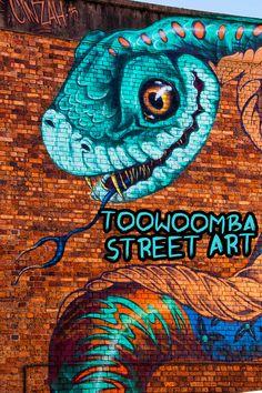 Amazing street art - 16 amazing street art murals in toowoomba - disney Movies - art art graffiti art quotes Street Art Quotes, Street Art Banksy, Murals Street Art, Urban Street Art, Urban Art, Amazing Street Art, Amazing Art, Amazing Places, Street Art London