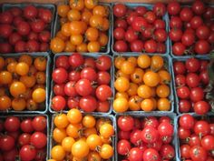 Tomatoes at the Ithaca Farmers' Market