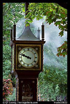 Steam clock. Vancouver, British Columbia, Canada
