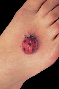 ladybug tattoos | Ladybug Tattoo
