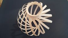 Origami Spiral Lamp Shade by OrigamiLampshade on Etsy