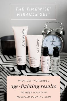 Change the future of your skin with 11 age-defying benefits in one system. TimeWise® Miracle Set is clinically shown to reduce the appearance of fine lines, target skin resilience and help skin tone look more even.