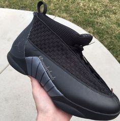 b0b9843a534339 A first look at the upcoming 2017 Air Jordan 15 Stealth colorway