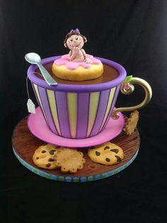 "Tea Cup Cake at KG ""The Art of Cakes"" #Bangkok#Thailand#SiamSingapore"