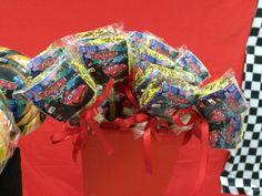 Cookie lollipop fora car birthday