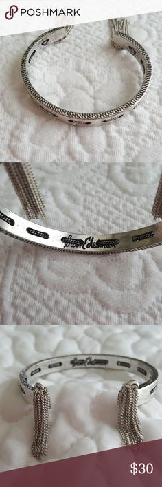 Silver cuff by Sam Edelman NWOT Super cute silver cuff with fringe detail by Sam Edelman. Sam Edelman Jewelry Bracelets