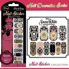 Disney❤Nail Decoration❤Nail Sticker❤Snow White❤Villains❤Evil Queen❤Kawaii Cute