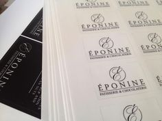 New stickers all arrived, new website nearly ready to go live, Christmas packaging arrived.... #exciting :) (Eponine Patisserie & Chocolaterie)