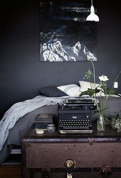 Dark and Moody Room Inspiration | Via the style files on Flickr