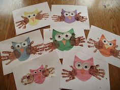 Like Mama~Like Daughter: An Enchanted Childhood ~ Owls
