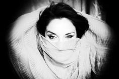 Beautiful Eyes....in B & W by Ivano Bellino