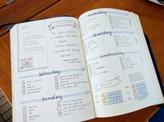 """penandanotebook: We had a long sail today to Barcelona so I did a little bullet journalling :) """" Bullet Journal 2, Get My Life Together, Pretty Notes, Bullet Journal Inspiration, Journal Ideas, Day Planners, Travelers Notebook, Filofax, Bujo"""