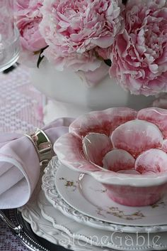 Soft  delicate pink