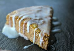 Cinnamon Drizzle Pumpkin Scones -  Worked well with several substitutions