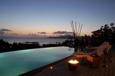 Le Domaine de L'Orangeraie by Atoll Paradise Seychelles Islands, Hotel Interiors, Varanasi, Hotel Deals, Archipelago, Heritage Site, Holiday Destinations, Swimming Pools, Building