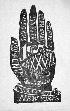 """Hand"" - designer: Jon Contino (via Society6.com)"
