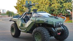 Halo's Warthog goes from pixels to reality - LA Times