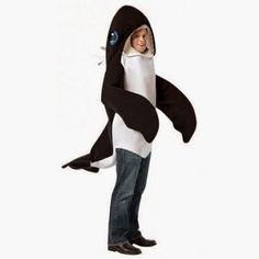 Disfraz de Ballena Orca | Disfraces Originales