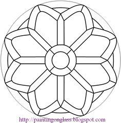  Mandalas  >>> Circular doodles to practice digitizing with.